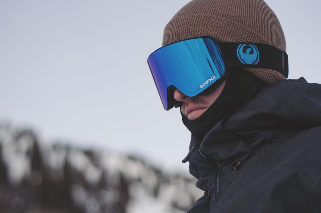 @keefbox shows off the clean and simple look of the JET NFX2 goggle.
