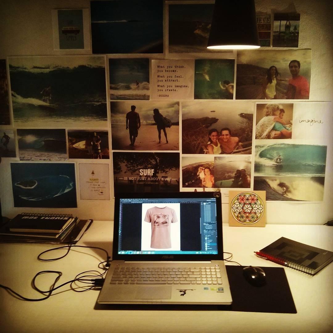 Una nueva colección esta en proceso aquí y ahora desde nuestro sector creativo en MAE!  #maetuanis #surf #surfing #design #winter