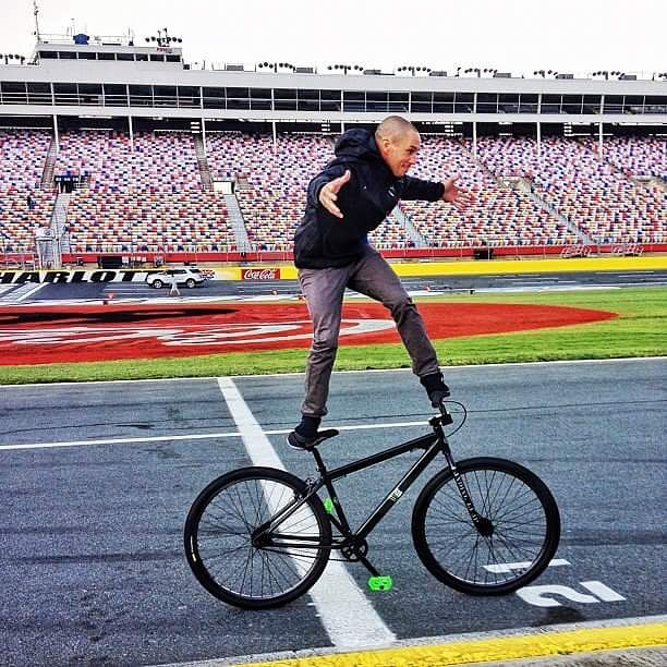 I lost a friend today, and the world lost a legend. Very very sad. I always enjoyed hanging out with Dave Mirra. I shot this photo at a rallycross race a few years ago when Dave decided to mess around with one of my team bikes. Dude had mad skills. So...