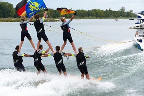 Watersport with friends = FUN. Can you do this?