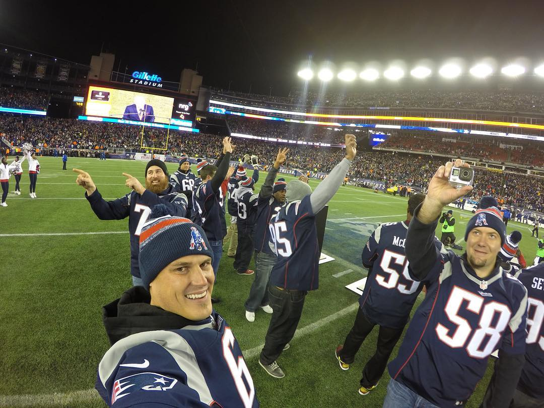 GoPro Featured Photographer & #SuperBowl Champion - @loniepaxton  About the Shot: After playing in the @NFL for 12 years (9 of those spent playing with Super Bowl Champions, the #NewEngland @Patriots), this photo brings back endless memories and...