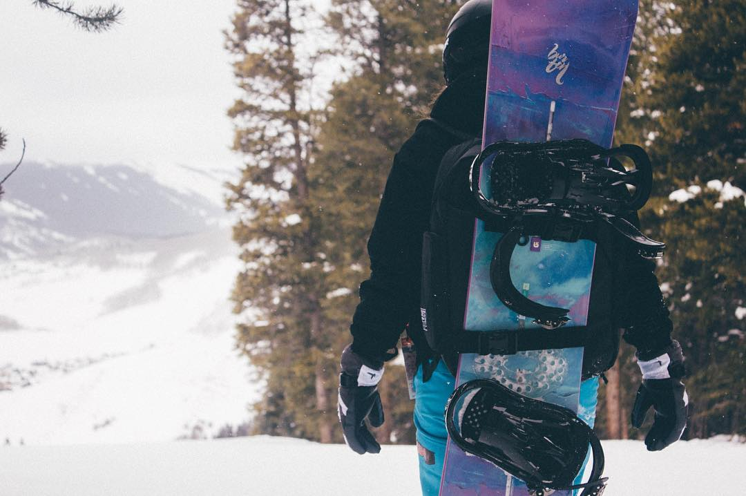 Weekend Winter Vibes with The OG Backpack #concretenative #og #backpack #snowpack #snowboarding #snowboard #snowboardlife #adventure #adventurelife #winter #vibes