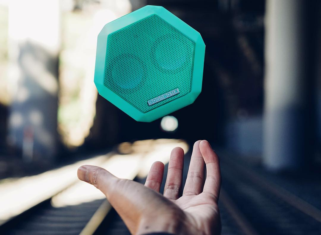#Boombotix Goes where you go.  #SoundOfTheBrave  #portablespeaker #bluetoothspeaker #lifestylebrand #essential #audiophile
