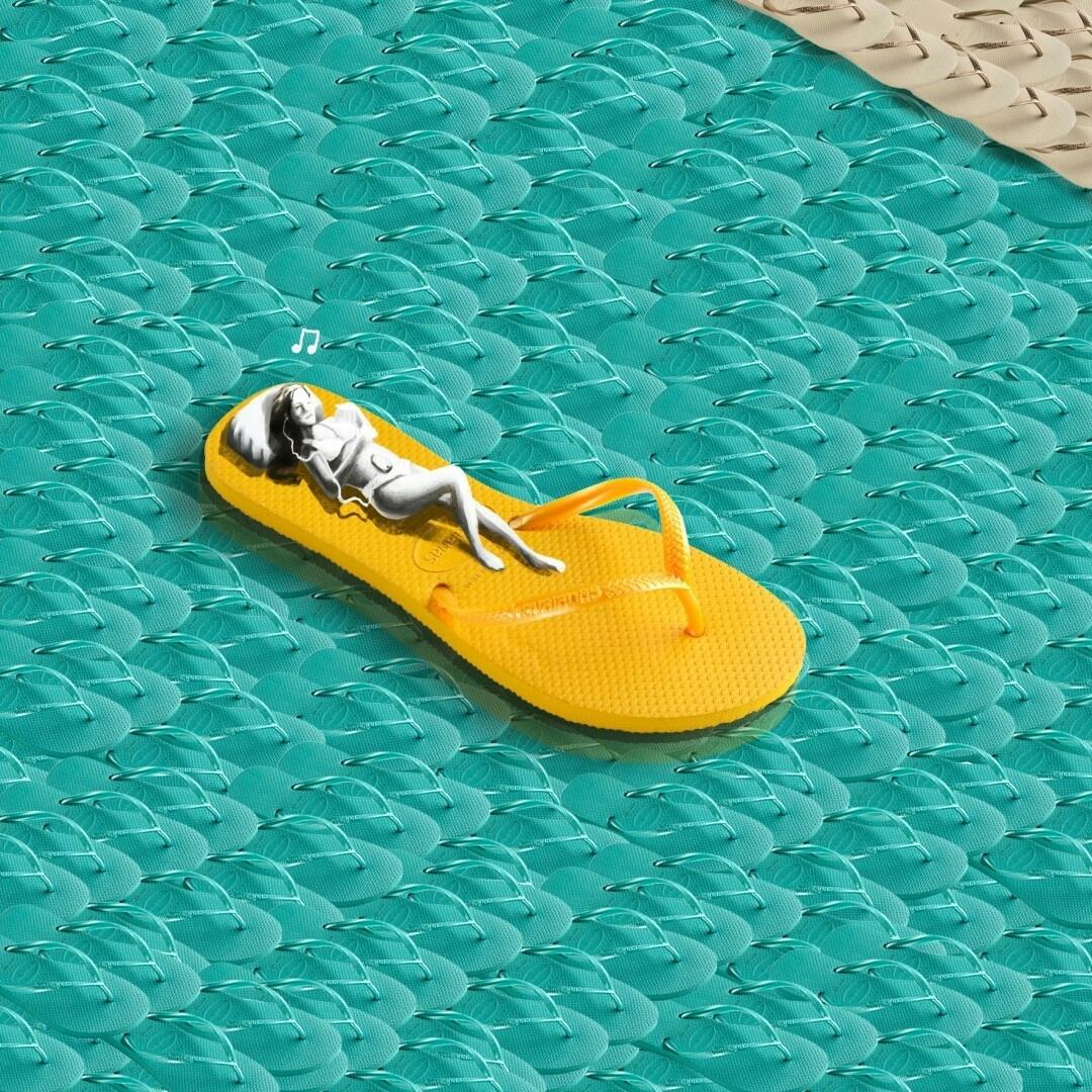 Relaxando no #Carnaval #TôDeHavaianas #HavaianasMoment #VoyConHavaianas