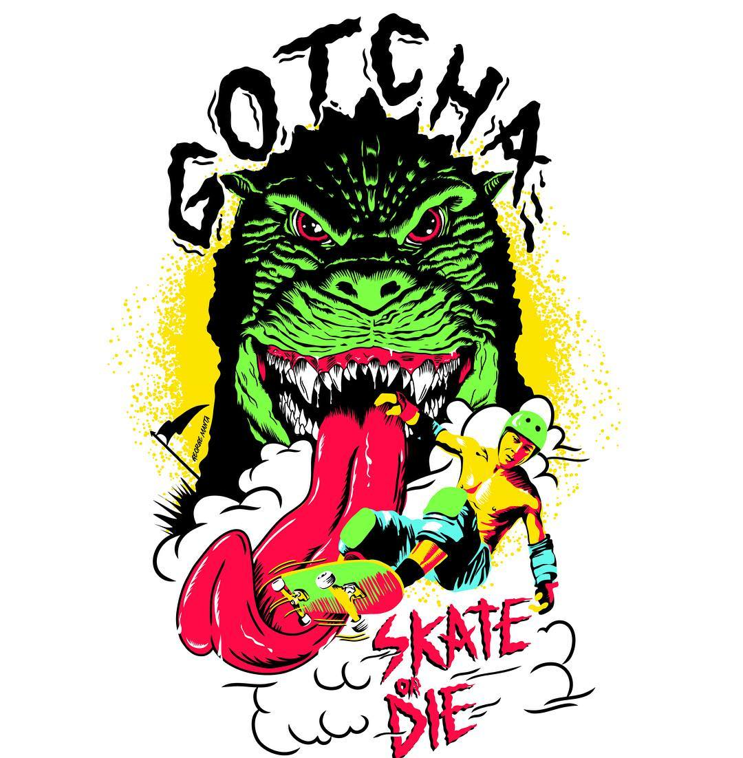 Gotcha by George Manta #gotcha #iconsneverdie