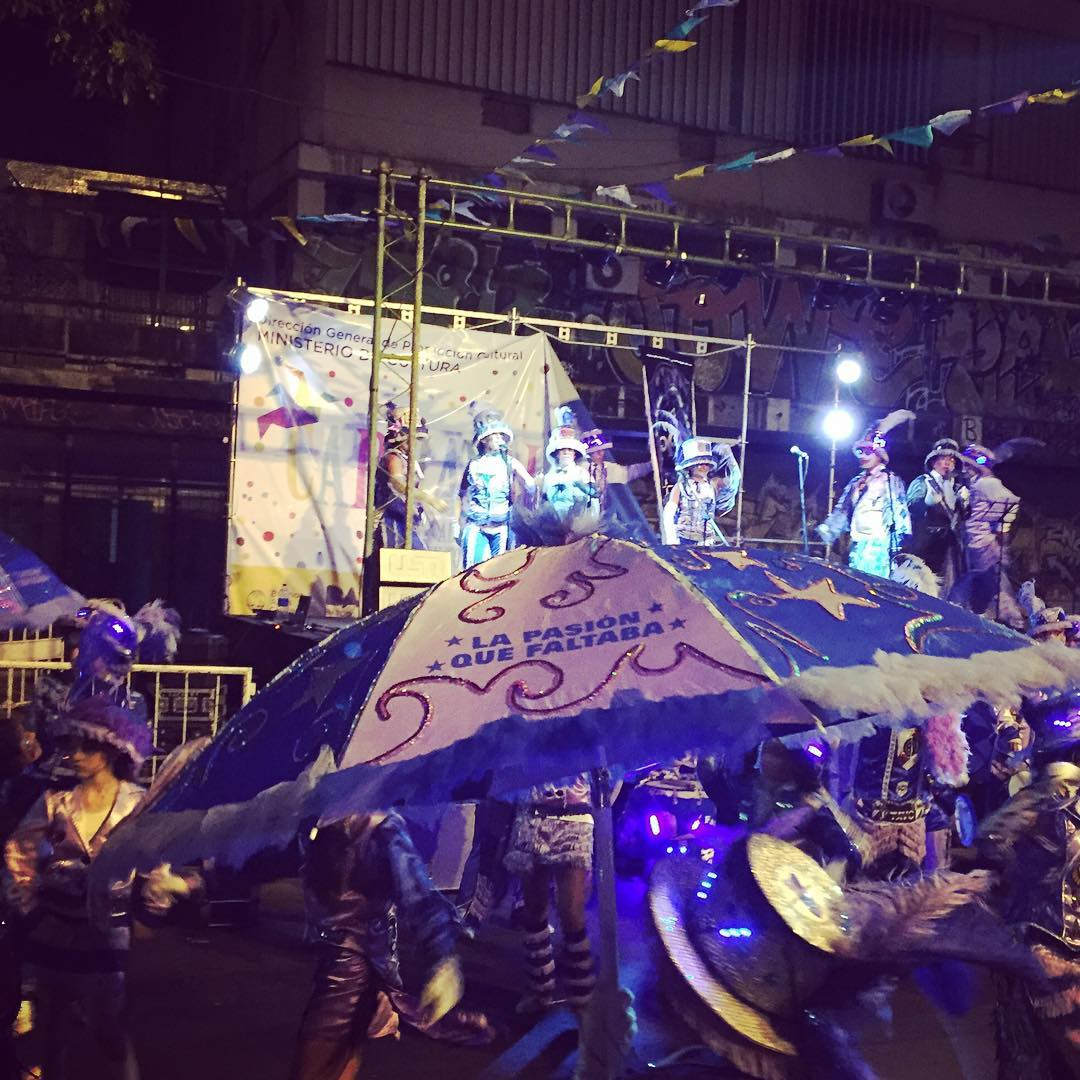 """La pasion que faltaba"" #carnaval #argentina #buenosaires"