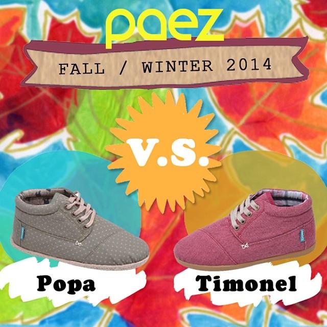 Coming Soon · Colección Otoño/Invierno 2014 · Sneak Preview · ¿Cuál elegís para pasar una tarde de vientito lindo? #Paezshoes #Fall #Winter #boots #PaezPopa #PaezTimonel