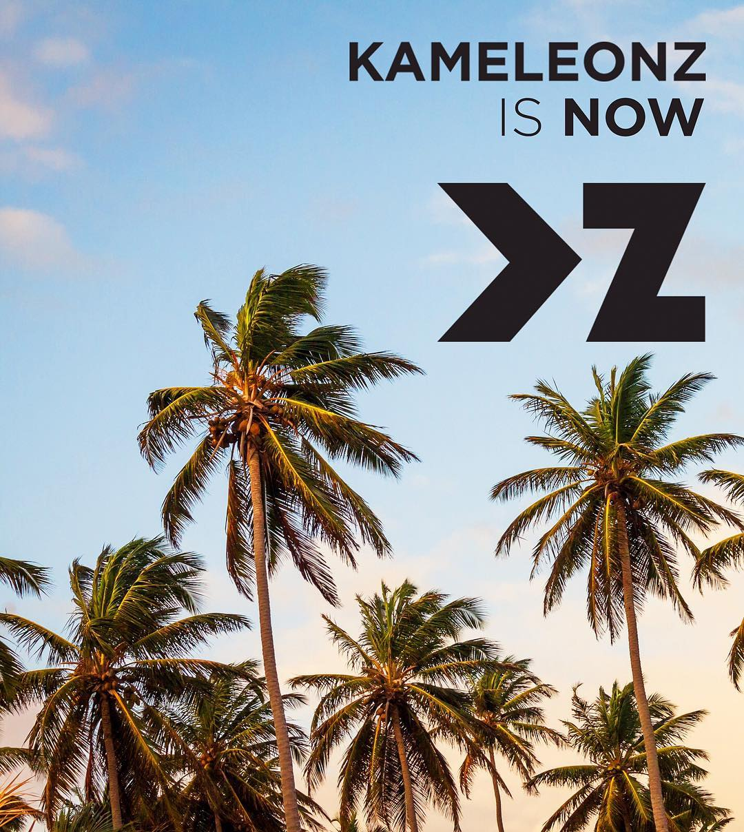 Kameleonz is now KZ! Follow us @KZgear. Why the change? For starters, KZ is easier to say, spell, read, remember, etc. It also allows the brand to expand beyond interchangeable sunglasses to bring you more shades, more beanies & more adventure gear! To...