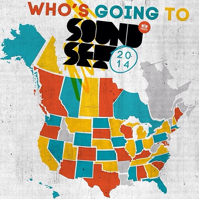 @soundsetfestival is coming up May 25! I will be setting up a booth at this festival come check it out! As you can see people are traveling from all over the US to make it to this event. I encourage all of you to do the same! It will definitely be...