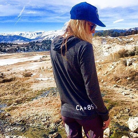 Where we'd rather be. Happy Monday! #CA89 #takeapeak