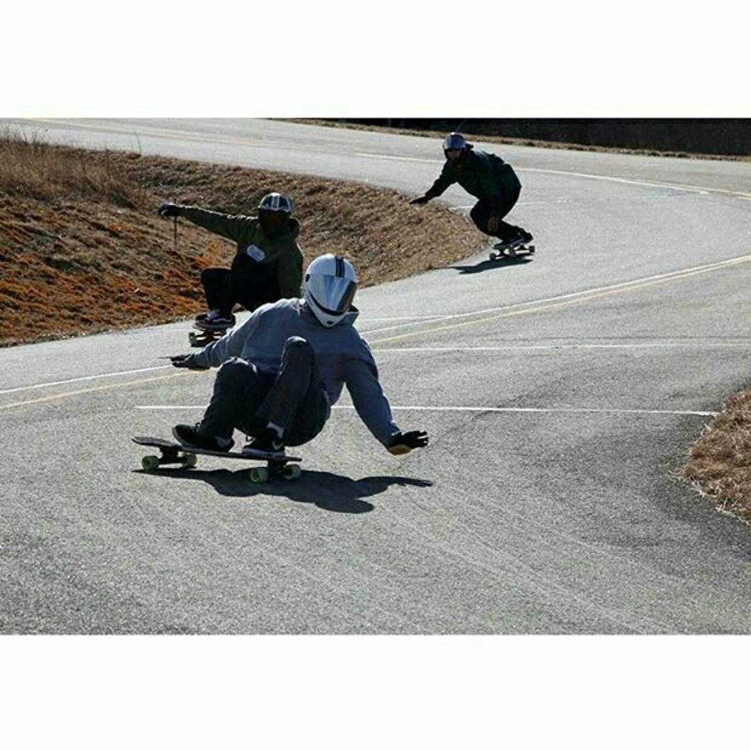 Brady Koch--@brady_koch12 chasing down Romeo Dilla--@romey_d on the MC Cat board!