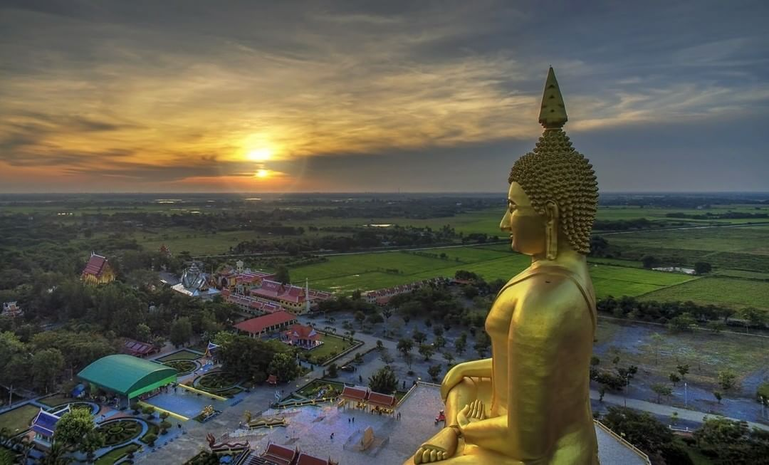 Thailand from Buddha's vantage point  Credit: Grant Cameron | #Phantom #DJI #IamDJI