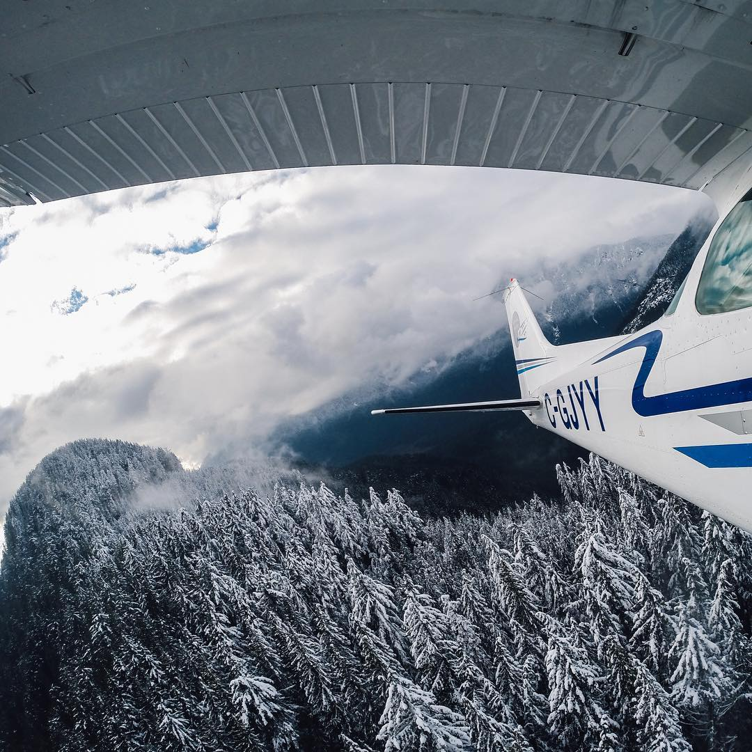 Photo of the Day! This might be the one time #BritishColumbia looks good in the rear view! #