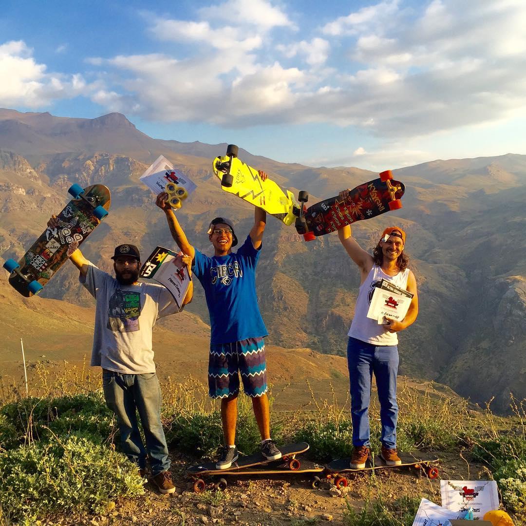 @victorsuicide #1place  @diegoalemparte  #2place @perneignacio  #3place  Felicitaciones a todos los corredores, todos son ganadores