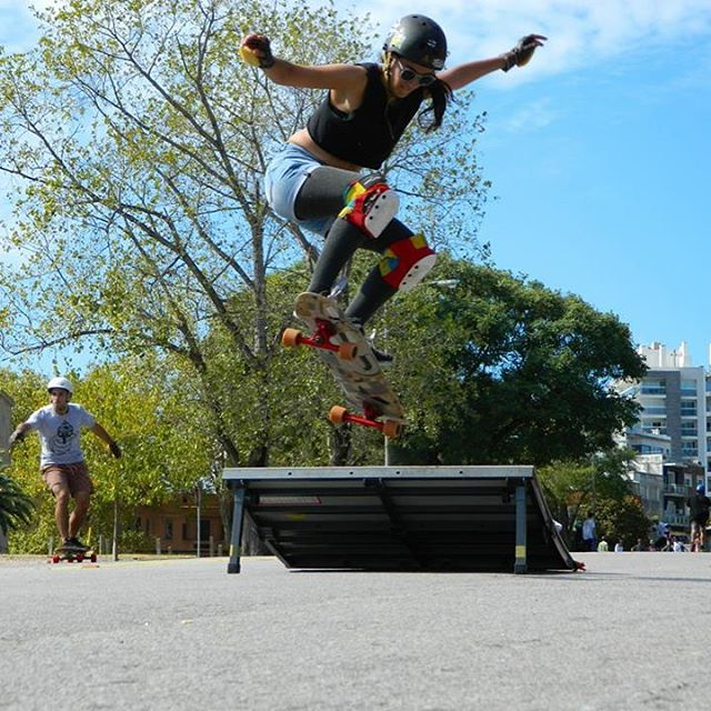 Number 2! Happy bday to our rad LGC Uruguayan Ambassador and worldwide LGC contributor @sowirodriguez. Sowi you're good, you're rad and we love you!  Marco Santana photo.  #longboardgirlscrew #womensupportingwomen #skatelikeagirl #lgcuruguay...