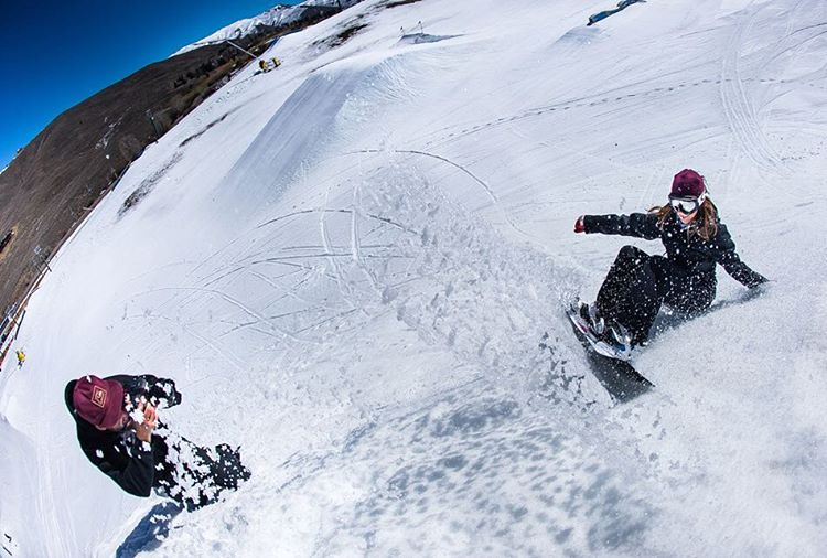 "ICYMI:  Barrett Christy (@barrettcc), OG women's snowboarding trailblazer and B4BC supporter, won the @twsnow Riders' Poll ""Legend"" award for being an all around awesome human! Barrett's @gnusnowboards pro model, the first women's pro model in history,..."
