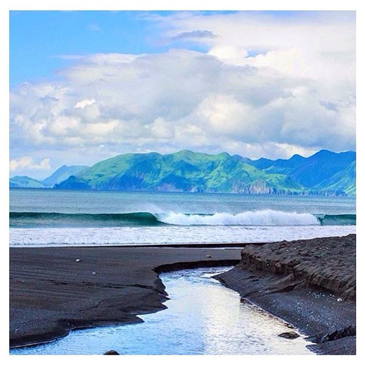 What dreams are made of. Kodiak Island making jaws drop. Photo courtesy of @betweenlostandfound #travel #getinspired #nature #Indosole #TiresToSoles #SolesWithSoul