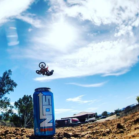 Oh yeah #whipitwednesday feeling the new look. @nosenergydrink only the beginning.
