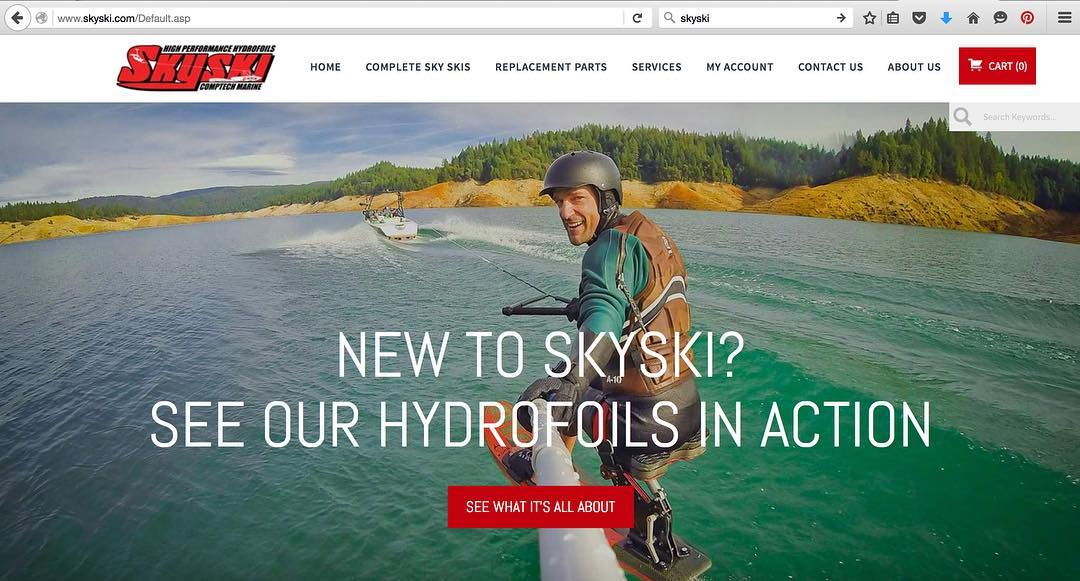 Loving the new @skyskihydrofoils homepage!! Fun day from the end of the 2014 season on #BullardsBar reservoir CA with #RodBrock, @gramasuzy & the #ShaNaaNaa @shawnakorgan.  The 2016 season with #TeamCenturionBoats & @bodyglovewake is gonna ROCK!!!...