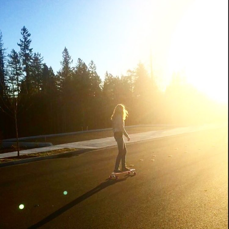 @toniparr cruising into the #Washington #sunset