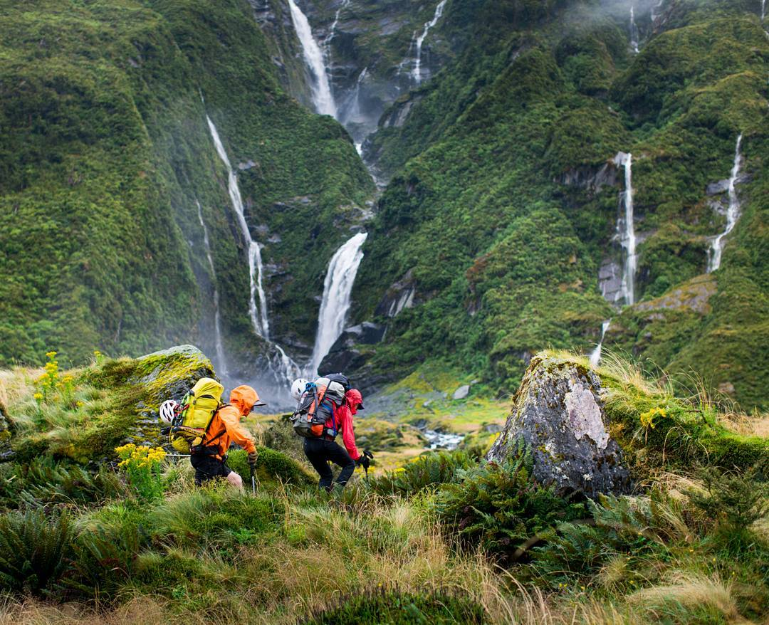 "//Five Ways: New Zealand 2// ""The trip started with walking through rainstorms to reach Mt Aspiring. Kyle and Jewell had been away from each other for a number of months while Kyle had been on an expedition to China. These two we're clearly happy to be..."