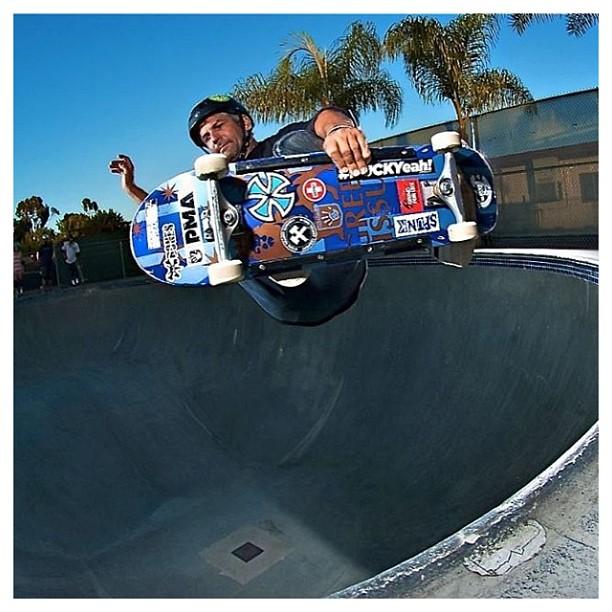 @sparagram / #frontsideair / #clairemont #skatepark / #s1 #lifer #helmet #stokage #skateforlife