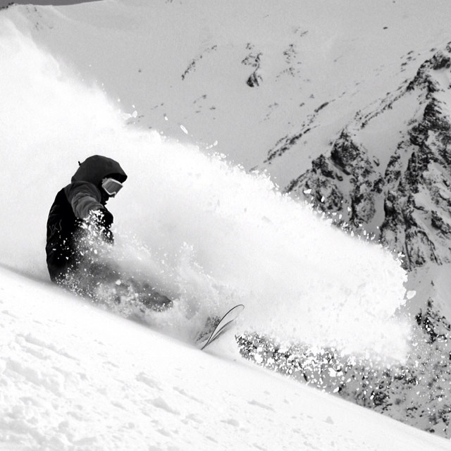 Pow pow for days at #bariloche #catedral #resort in #issue30 #steezmagazine #juliandonatelli #powday #snowboarding