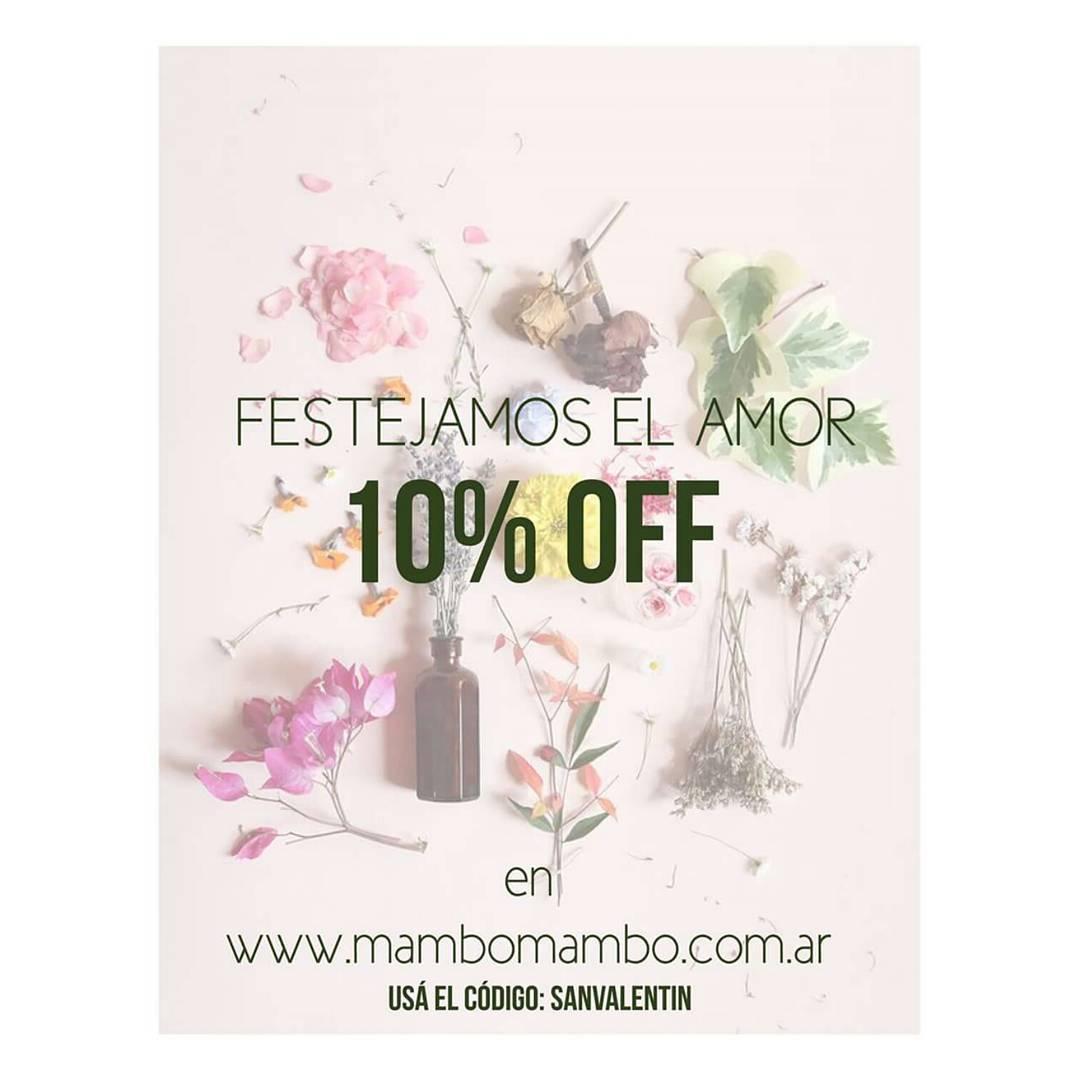 Viva el amor!! 10% OFF en nuestra web con el código SANVALENTIN