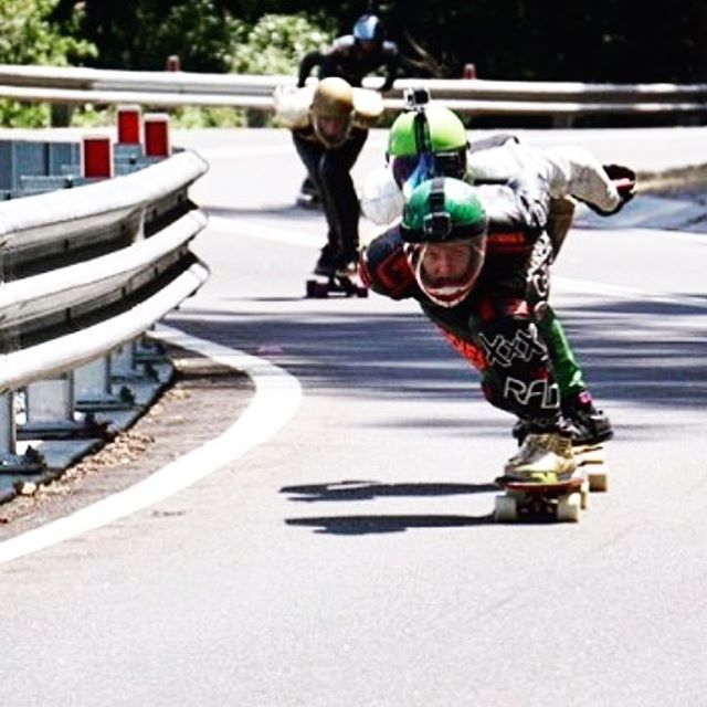 This weekend @idfracing's first race of the season #mtkeira is going down in Australia! @emilylongboards flew from US and finished 13th in OPEN qualifications. Emily, go get them!