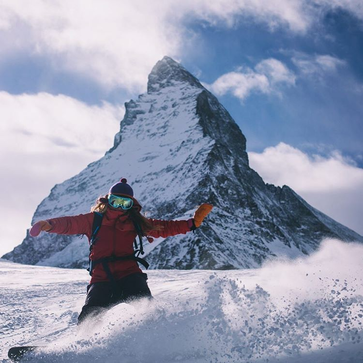 Mahalo to the majestic Matterhorn! Wow! Snowboarding through the alps I feel a certain powerful energy - raw nature! It's incredible to think about the possibility that harnessed in right way, the renewable elements alone (sun, water, wind) could power...