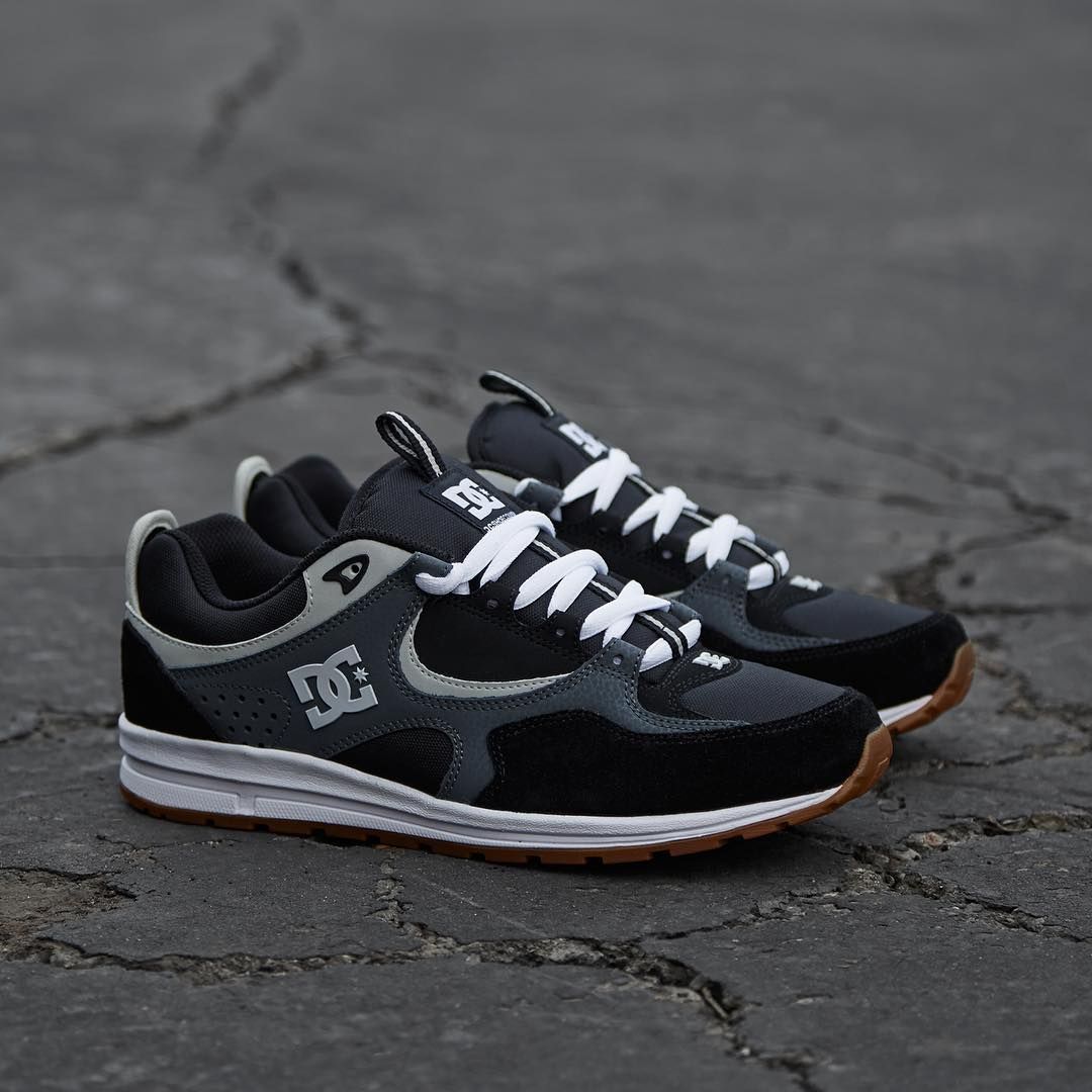 The new @dgkalis Lite is now available in black/ grey only at @journeysshoes --> journeys.com #dcshoes #journeys