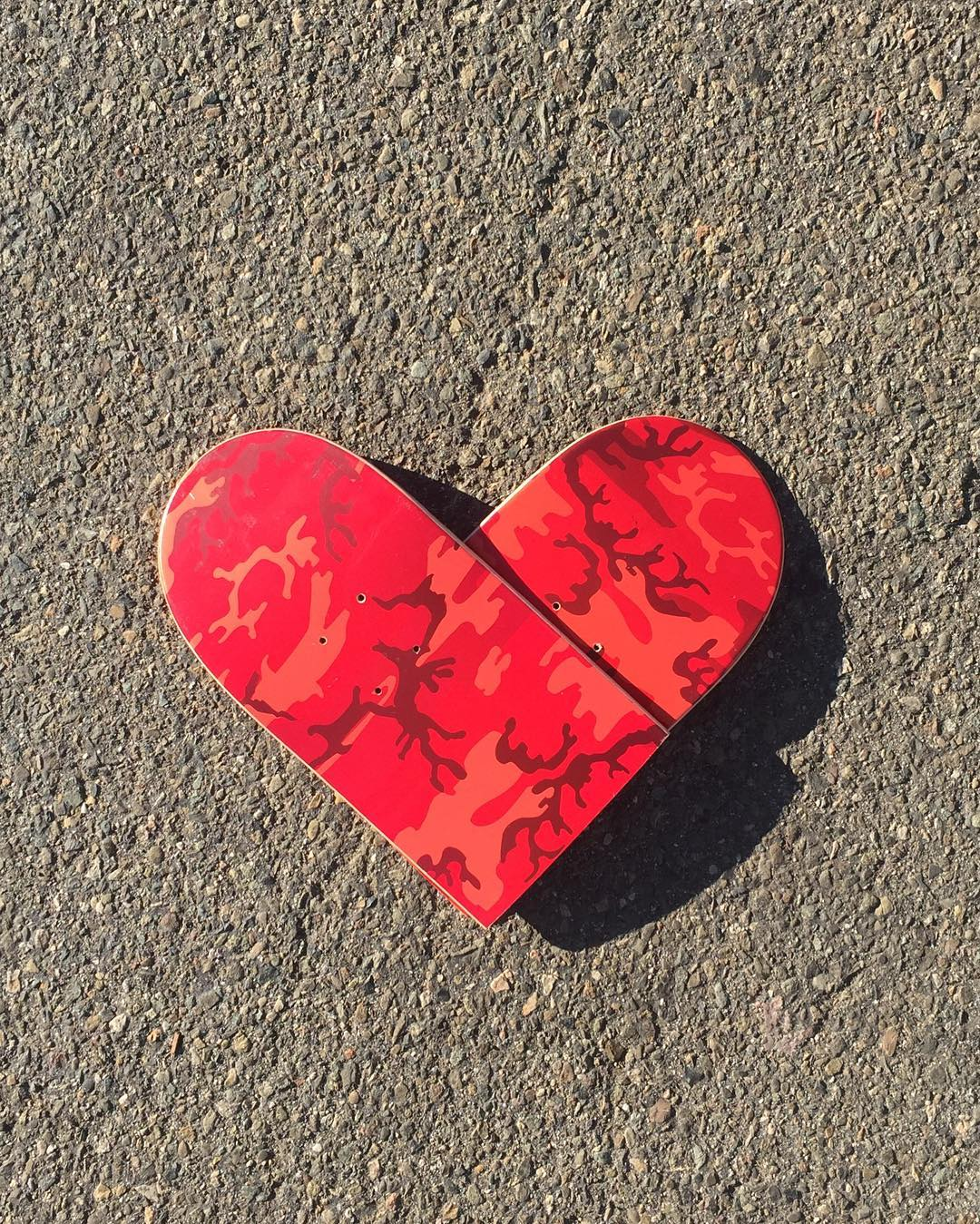 happy Valentine's Day, we love you skateboarding ❤️