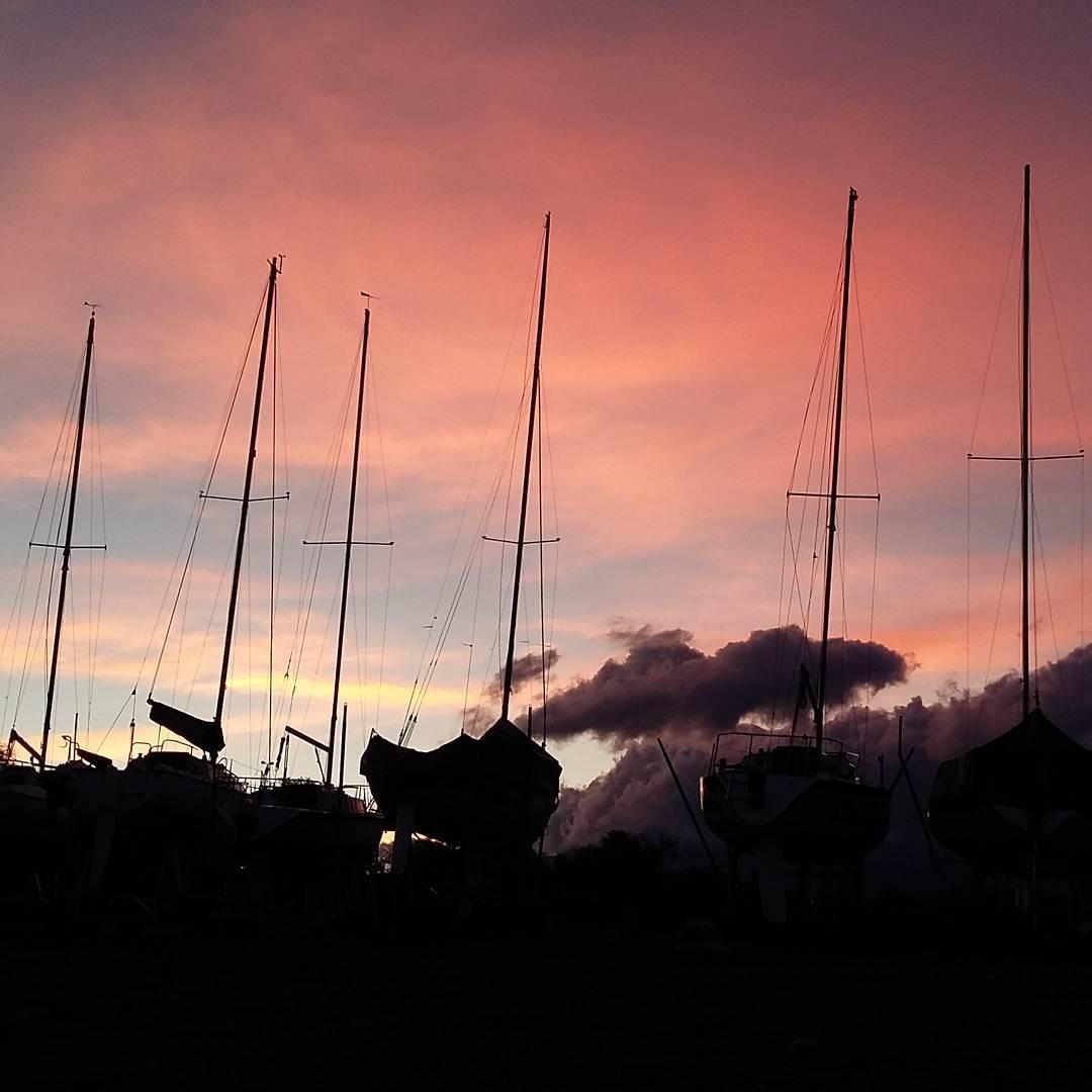 Veleros en el Cabra #sail #sailboat
