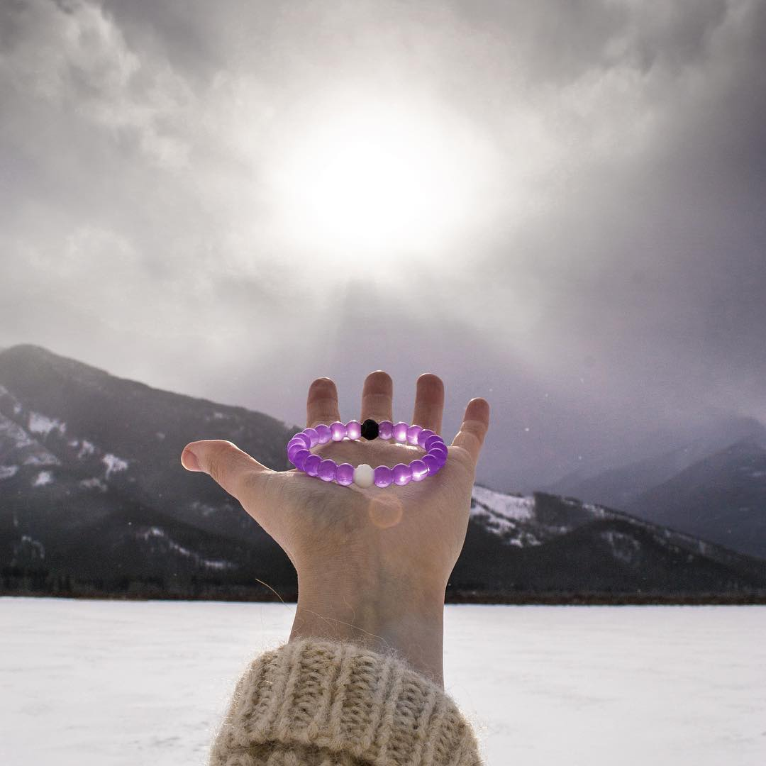 Lets raise awareness for Alzheimer's. Who's in? #fightformemories #purplelokai Thanks @clo.photo