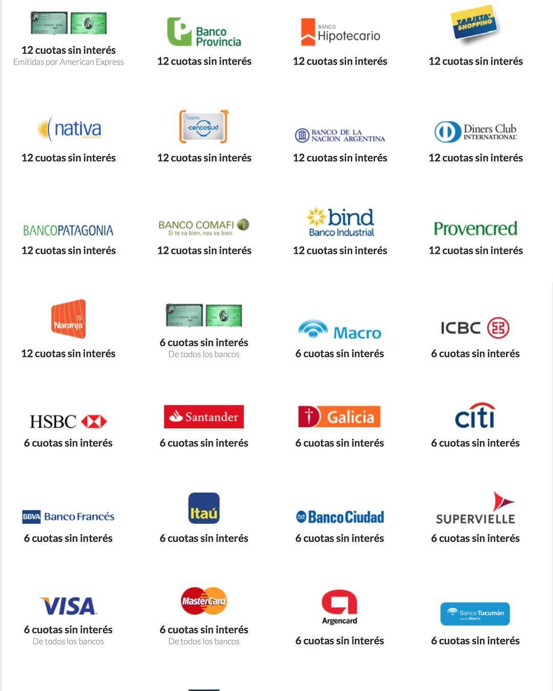 Super Promoción Online! Cuotas sin interes. Todos los bancos! #ilovemymonochrome