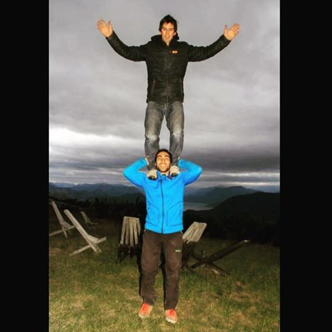 Tarann acrobacia en #Miramas @darionolazco llegaste ya'gato?