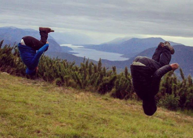 Meditando en el monte @darionolazco