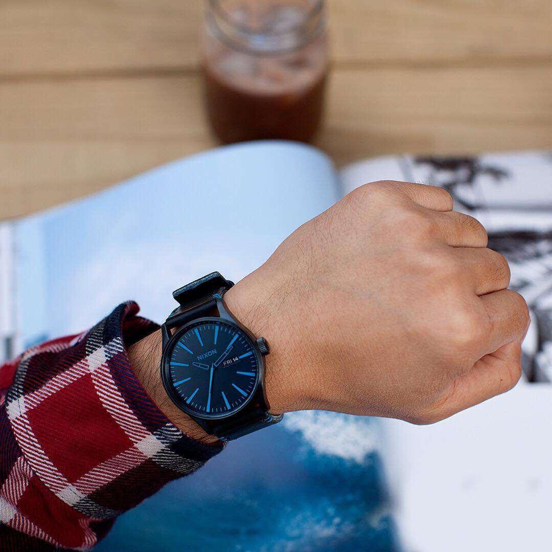 Nixing the status quo, the #SentryLeather has entered the room and raised the bar. #Nixon