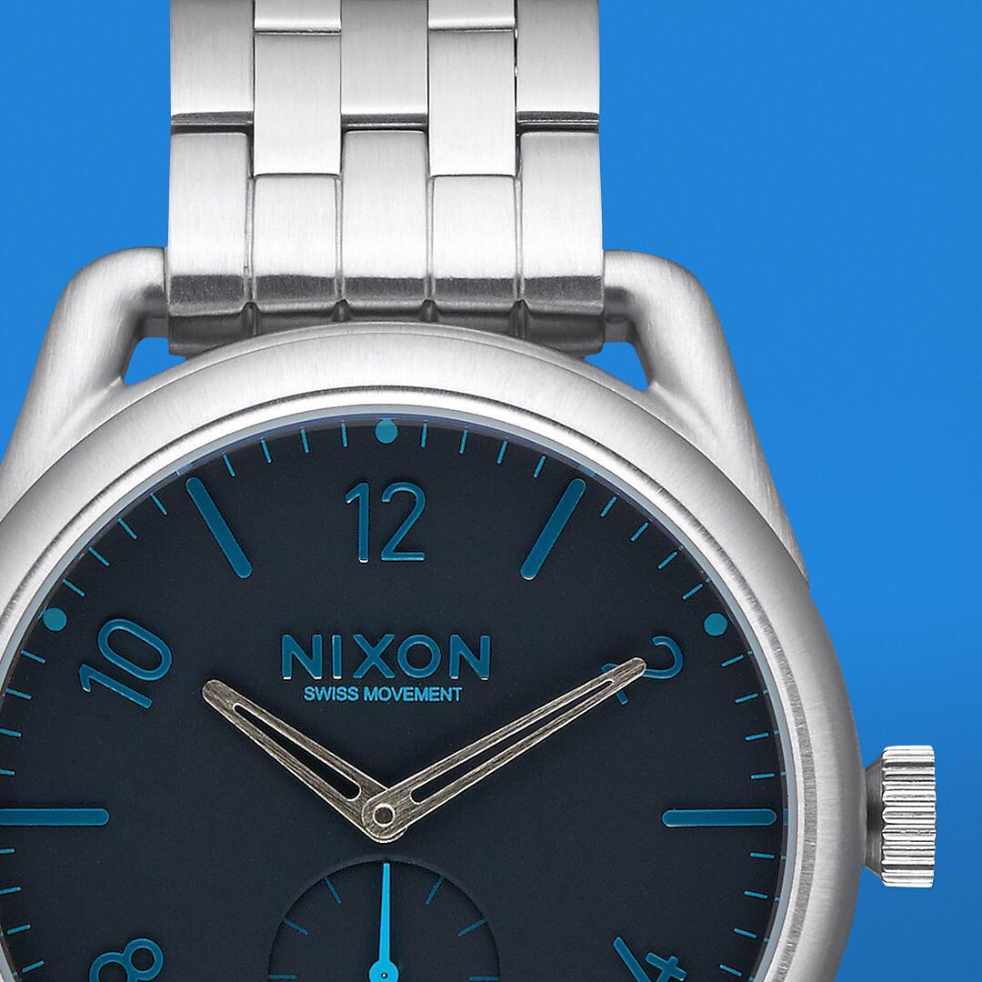 The new face of a modern classic welcome the #C39 stainless steel. #Nixon