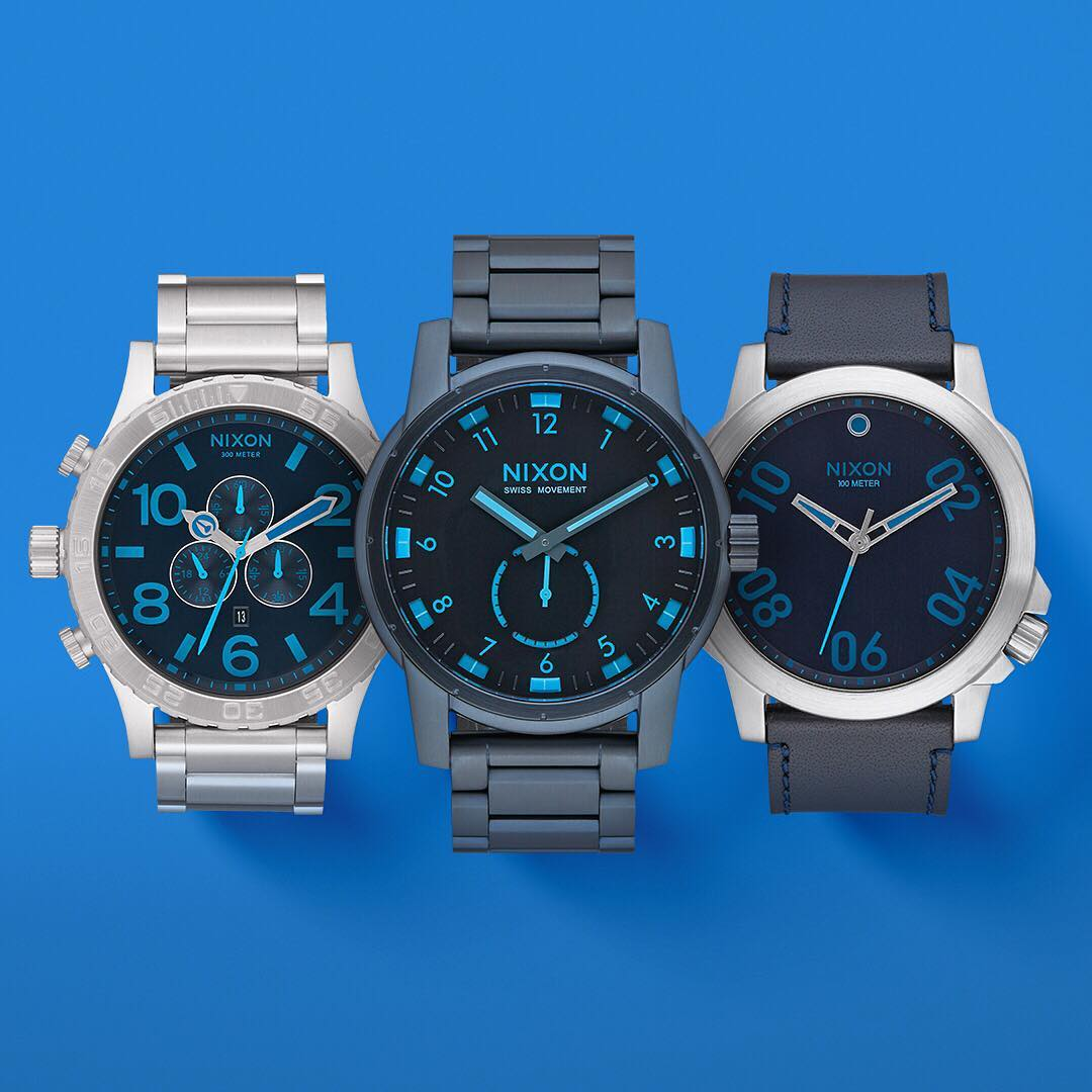 Inspired by open skies and inviting oceans that drive our inspiration, welcome the Blues Collection. #Nixon