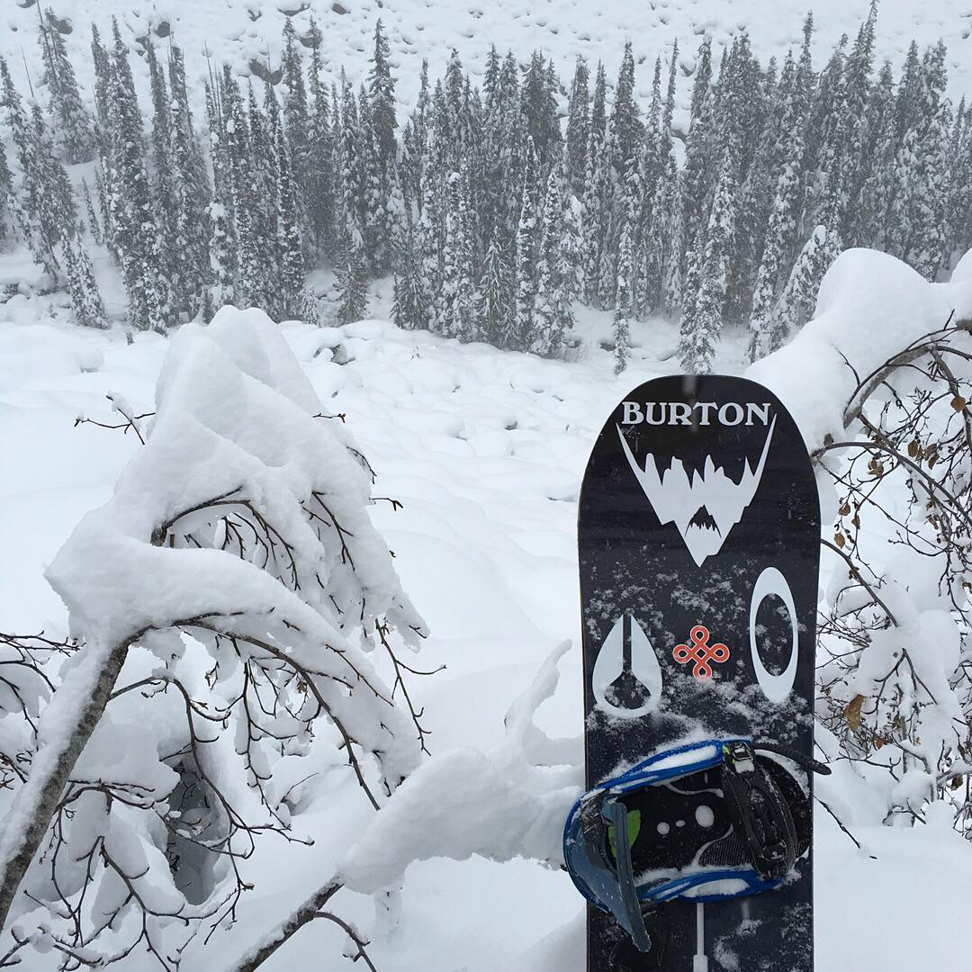The snow keeps coming thanks to El Nino. Get out there and get some. Photo @mikkel_bang