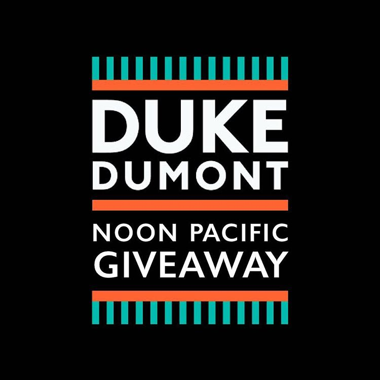 We're giving away 2 tickets to Duke Dumont @ The Observatory for tomorrow night!  HOW TO ENTER: 1. Tag the friend you want to go with 2. Both follow @noonpacific  Winners will be notified tonight at 9PM PST via DM.  #competition #contest #giveaway...