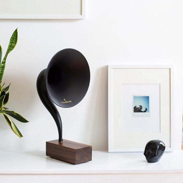 VIBE OF THE WEEK: A new collection mixtape to pair with the @gramovox Gramophone 2.0. The sexiest bluetooth speaker we've ever seen.