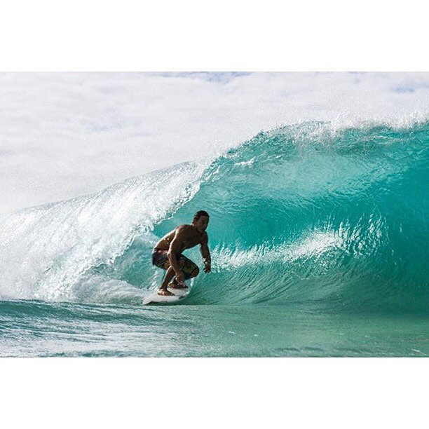 Getting shady with Team Rider @kainoahaas #inspiredboardshorts | Photo: @jackie_fiero