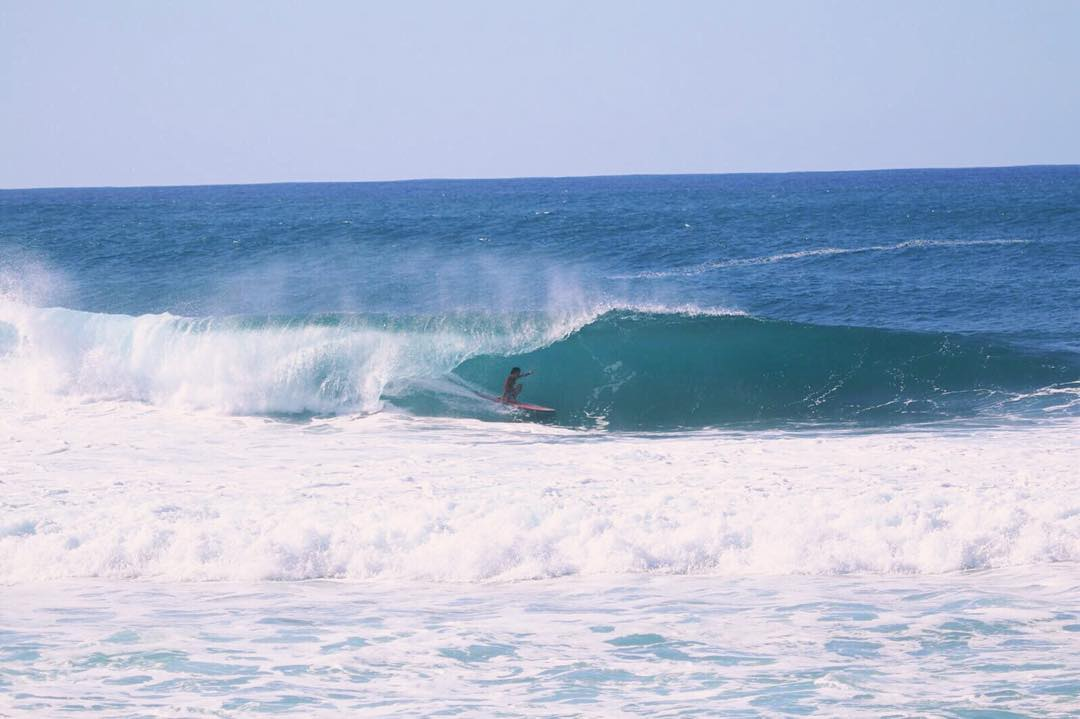 Team Rider @mauizack808 about to get some mean coverage! | Photo: @noahofthesea #inspiredboardshorts