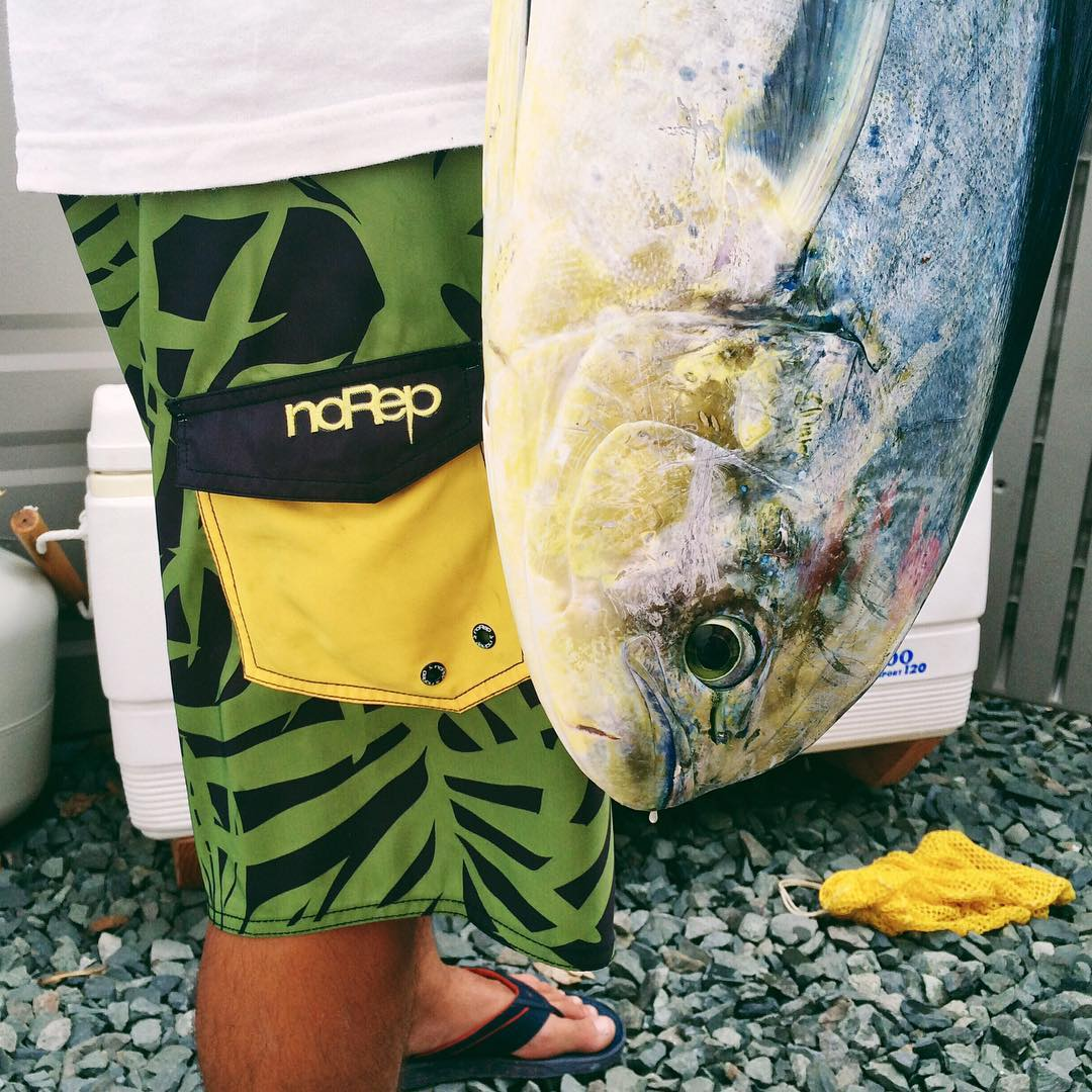 You can thank Team Rider @coleyamakawa for dinner | noRep x @fitted Alaka'i boardshorts #inspiredboardshorts