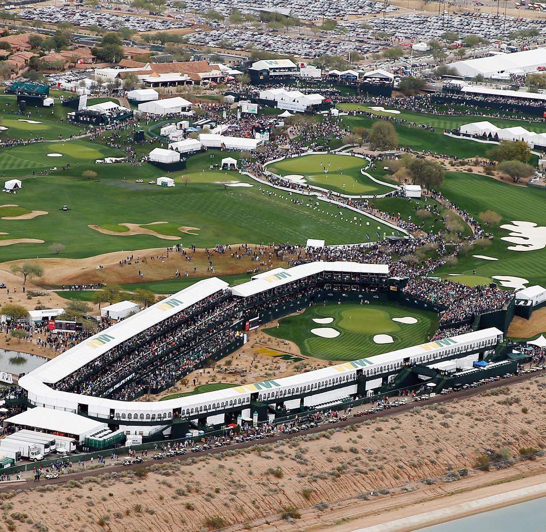 Nine years of bringing the noise. #SorryForPartying #PhoenixOpen
