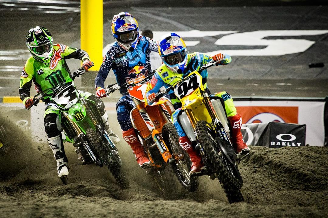 Respect your roots.  We're excited to be the official eyewear and goggle sponsor of the Monster Energy Supercross series.