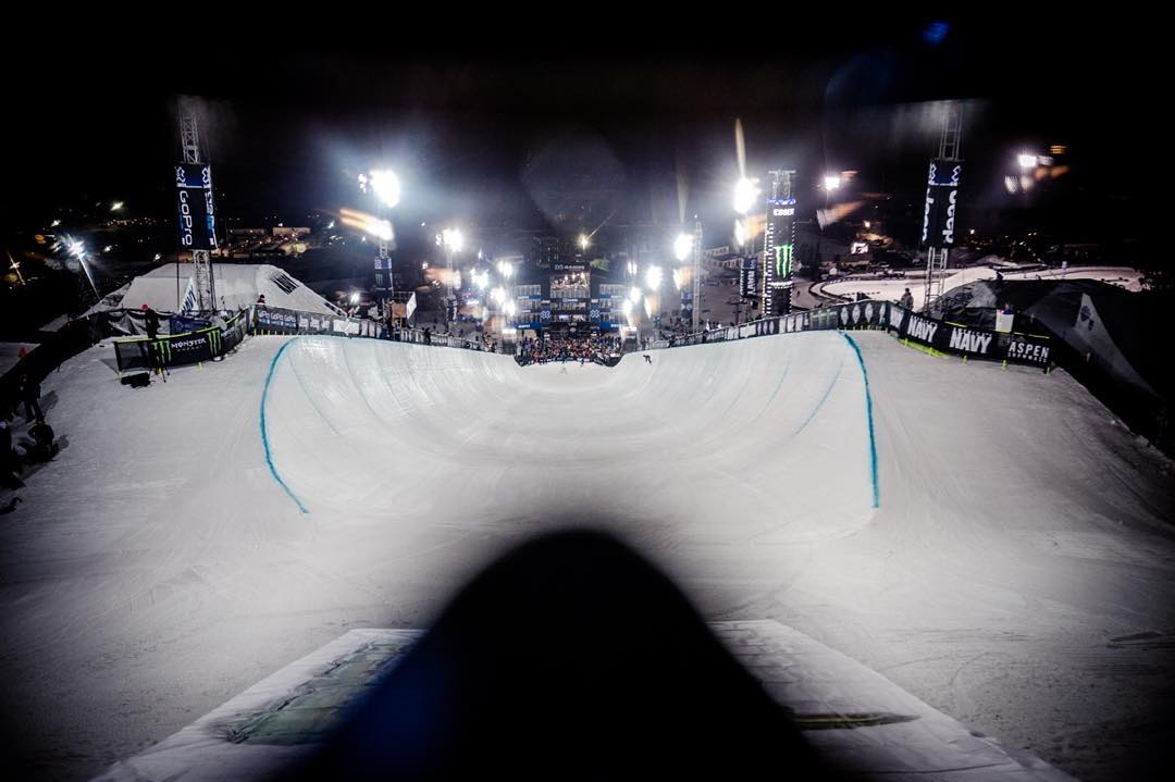 Tunnel vision.  See you in a week, #XGames.