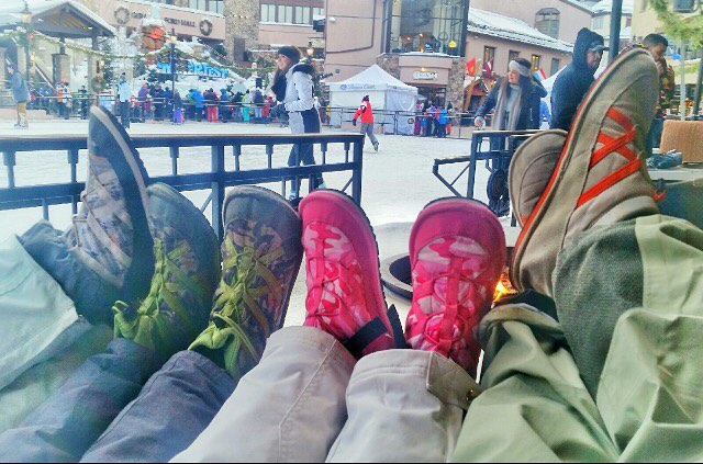 Thank you Mark Sassi for the awesome picture relaxing happy in your Pakems. #goodmorningvail #tv8vail #marksassi #relaxhappy #vail #vailcolorado #bekind @tv8vail